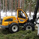 harvendusraie harvester Sampo Rosenlew HR46X