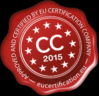 certified company label